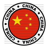 Round China Flag Clipart