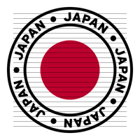 Round Japan Flag Clipart