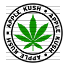 Round Apple Kush Marijuana Strain Clipart