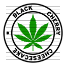Round Black Cherry Cheesecake Marijuana Strain Clipart