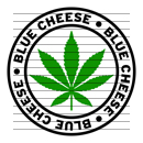 Round Blue Cheese Marijuana Strain Clipart