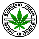 Round Blueberry Dream Marijuana Strain Clipart