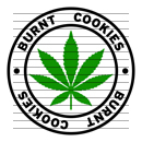 Round Burnt Cookies Marijuana Strain Clipart