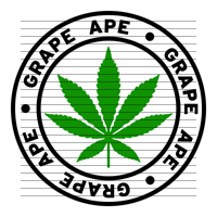 Round Grape Ape Marijuana Strain Clipart