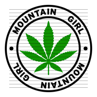 Round Mountain Girl Marijuana Strain Clipart