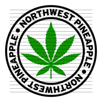 Round Northwest Pineapple Marijuana Strain Clipart