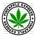Round Pineapple Express Marijuana Strain Clipart