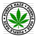 Round Purple Haze Marijuana Strain Clipart