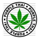 Round Purple Thai Marijuana Strain Clipart