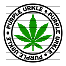 Round Purple Urkle Marijuana Strain Clipart