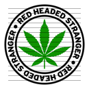 Round Red Headed Stranger Marijuana Strain Clipart