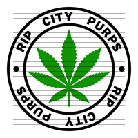 Round Rip City Purps Marijuana Strain Clipart