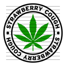 Round Strawberry Cough Marijuana Strain Clipart