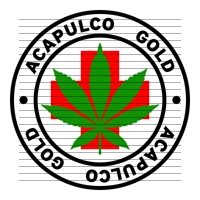 Round Acapulco Gold Medical Marijuana Strain Clipart