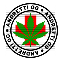 Round Andretti OG Medical Marijuana Strain Clipart