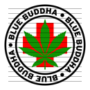 Round Blue Buddha Medical Marijuana Strain Clipart