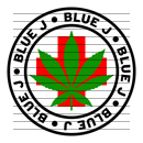 Round Blue J Medical Marijuana Strain Clipart