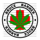 Round Bruce Banner Medical Marijuana Strain Clipart