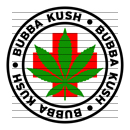 Round Bubba Kush Medical Marijuana Strain Clipart