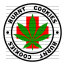 Round Burnt Cookies Medical Marijuana Strain Clipart