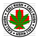 Round Cali Kush Medical Marijuana Strain Clipart