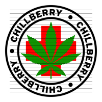 Round Chillberry Medical Marijuana Strain Clipart