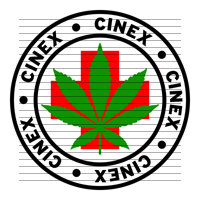 Round Cinex Medical Marijuana Strain Clipart