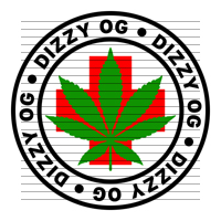 Round Dizzy OG Medical Marijuana Strain Clipart