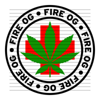 Round Fire OG Medical Marijuana Strain Clipart