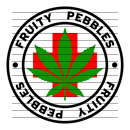 Round Fruity Pebbles Medical Marijuana Strain Clipart