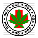 Round GG4 Medical Marijuana Strain Clipart