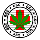 Round GSC Medical Marijuana Strain Clipart