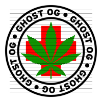 Round Ghost OG Medical Marijuana Strain Clipart