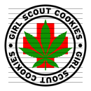 Round Girl Scout Cookies Medical Marijuana Strain Clipart