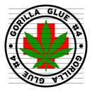 Round Gorilla Glue #4 Medical Marijuana Strain Clipart