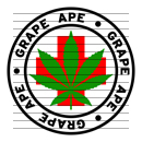 Round Grape Ape Medical Marijuana Strain Clipart