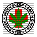 Round Green Queen Medical Marijuana Strain Clipart