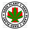 Round Hash Plant Medical Marijuana Strain Clipart