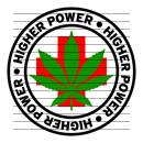 Round Higher Power Medical Marijuana Strain Clipart