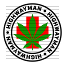 Round Highwayman Medical Marijuana Strain Clipart