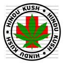 Round Hindu Kush Medical Marijuana Strain Clipart