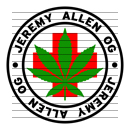 Round Jeremy Allen OG Medical Marijuana Strain Clipart