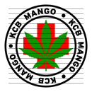 Round KCB Mango Medical Marijuana Strain Clipart