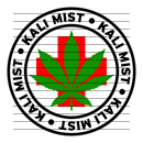 Round Kali Mist Medical Marijuana Strain Clipart