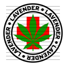 Round Lavender Medical Marijuana Strain Clipart