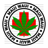 Round Maui Waui Medical Marijuana Strain Clipart