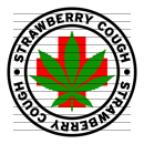 Round Strawberry Cough Medical Marijuana Strain Clipart