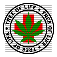Round Tree of Life Medical Marijuana Strain Clipart