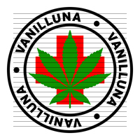 Round Vanilluna Medical Marijuana Strain Clipart